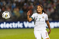 EAST HARTFORD, CT - JULY 1: Daniela Espinosa #7 of Mexico during a game between Mexico and USWNT at Rentschler Field on July 1, 2021 in East Hartford, Connecticut.