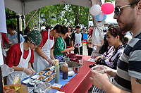 August 11 2012 - Montreal (Qc) Canada - Matsuri Japon Festival 11th edition.<br /> <br /> Matsuri Japon is a free event promoting Japanese culture to the general public. IN  PHOTO : Takoyaki booth