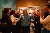 Pauline Marois lors d'une rencontre du PQ , le 13 avril 2012 Saint Constant <br /> <br /> <br /> PHOTO :  Agence Quebec Presse