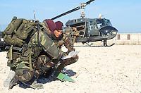 - paratroopers of the airborne brigade Folgore ....- paracadutisti della brigata aerotrasportata Folgore