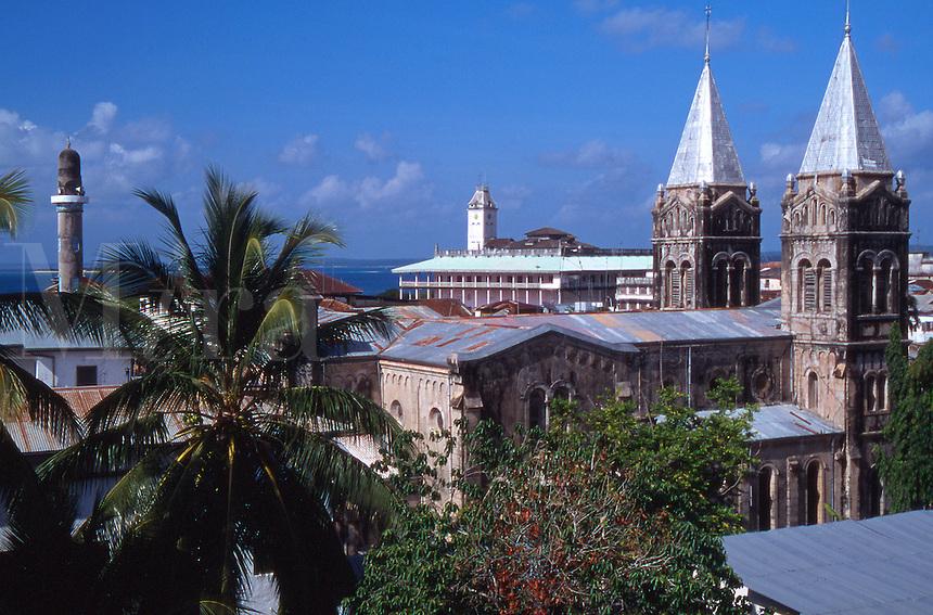 Tanzania Zanzibar View of Stone Town