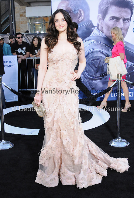 Andrea Riseborough at Universal Pictures American Premiere of Oblivion held at The DolbyTheater in Hollywood, California on April 10,2013                                                                   Copyright 2013 Hollywood Press Agency