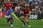 Glasgow 2014 Commonwealth Games<br /> Gareth Owen<br /> Wales v Samoa<br /> Ibrox Stadium<br /> <br /> 26.07.14<br /> ©Steve Pope-SPORTINGWALES