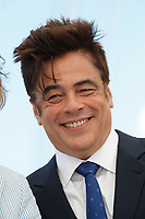 """CANNES, FRANCE - JULY 13: Us actor Benicio Del Toro  at photocall for the film """"The French Dispatch"""" at the 74th annual Cannes Film Festival in Cannes, France on July 13, 2021 <br /> CAP/GOL<br /> ©GOL/Capital Pictures"""