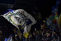 Frosinone fans cheer on during the Serie A 2018/2019 football match between Frosinone and AS Roma at stadio Benito Stirpe, Frosinone, February 23, 2018 <br />  Foto Andrea Staccioli / Insidefoto