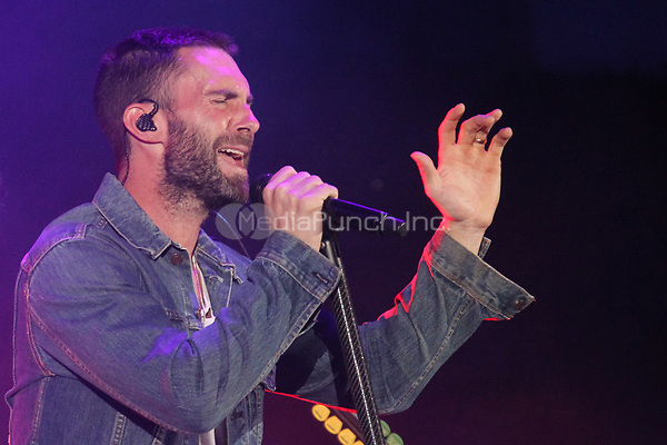 LOS ANGELES, CA - OCTOBER 24: Adam Levine performs at the Third Annual We Can Survive benefit concert at The Hollywood Bowl in Los Angeles, California on October 24, 2015. Credit: mpi21/MediaPunch
