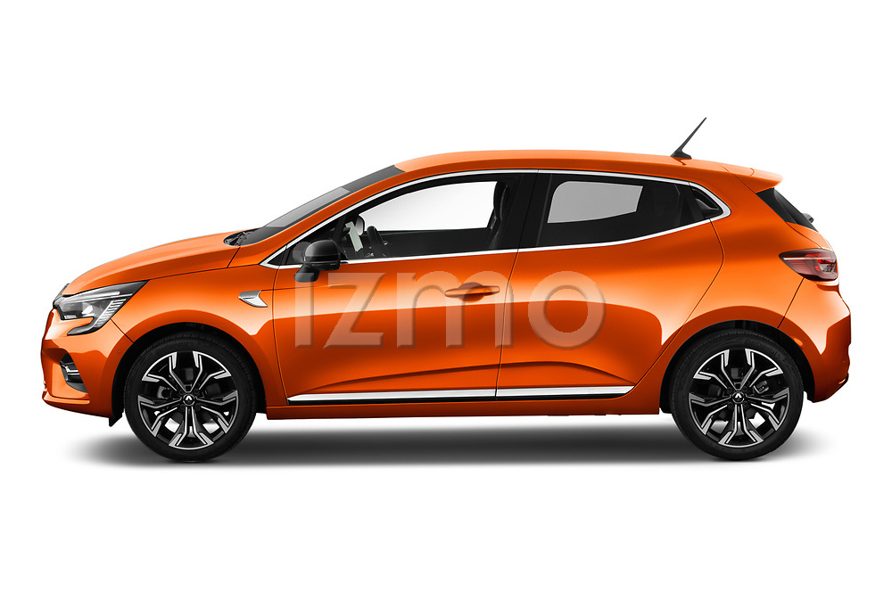Car driver side profile view of a 2020 Renault Clio Edition One 5 Door Hatchback