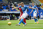 St Johnstone v Stirling Albion…30.07.16  McDiarmid Park. Betfred Cup<br />Liam Craig's shot is saved<br />Picture by Graeme Hart.<br />Copyright Perthshire Picture Agency<br />Tel: 01738 623350  Mobile: 07990 594431
