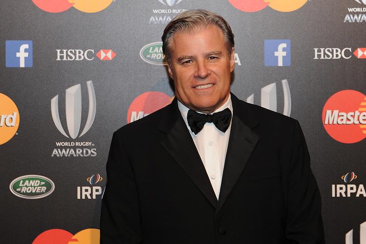 Brett Gosper, CEO of World Rugby, at the World Rugby Awards 2015  - 01/11/2015 - Battersea Evolution, London<br /> Mandatory Credit: Rob Munro/Stewart Communications