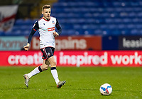 Bolton Wanderers' Tom White breaks<br /> <br /> Photographer Andrew Kearns/CameraSport<br /> <br /> The EFL Sky Bet League Two - Bolton Wanderers v Salford City - Friday 13th November 2020 - University of Bolton Stadium - Bolton<br /> <br /> World Copyright © 2020 CameraSport. All rights reserved. 43 Linden Ave. Countesthorpe. Leicester. England. LE8 5PG - Tel: +44 (0) 116 277 4147 - admin@camerasport.com - www.camerasport.com