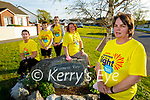 The residents of Casements View in Ardfert getting ready for their Darkness into Light fundraiser for Pieta House. Front right: Brenda O'Connor. Seated l to r: Noreen O'Neill and Mary Lyne. Back l to r: Nicole and David O'Connor