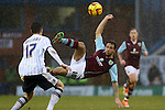 Burnley v Millwall<br /> 8.2.2014<br /> Sky Bet Championship<br /> Picture Shaun Flannery/Trevor Smith Photography<br /> Burnley's Danny Ings fires wide.