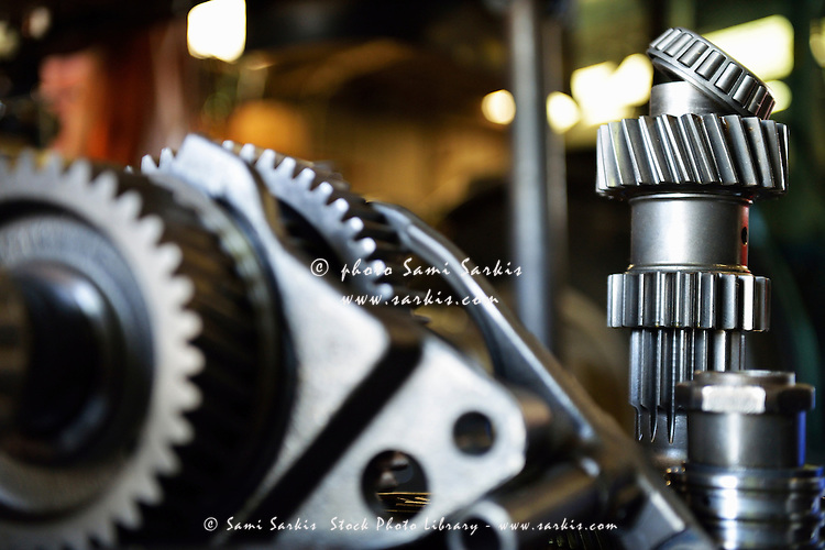 Motor gears to be assembled
