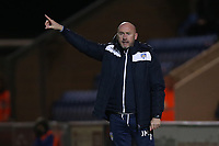 Colchester United manager John McGreal during Colchester United vs Swindon Town, Sky Bet EFL League 2 Football at the JobServe Community Stadium on 28th January 2020
