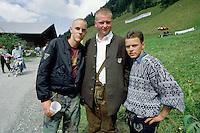 - gathering of south Tirol indipendentist  and schützen at Brenner pass..- raduno indipendentisti sud Tirolesi e schützen al passo del Brennero