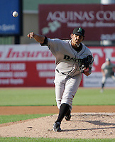 Dayton Dragons JC Sulbaran (33) delivers a pitch during a game vs. the West Michigan White Caps at Fifth Third Field in Comstock Park, Michigan June 10, 2010.   Photo By Emily Jones/Four Seam Images