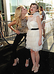 Hunter King and Joey King  at The Warner Bros. L.A. Premiere of The Conjuring held at The Cinerama Dome in Hollywood, California on July 15,2013                                                                   Copyright 2013 Hollywood Press Agency