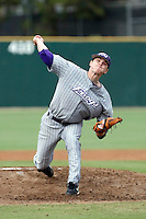 Sean Hoelscher - 2009 Texas Christian Horned Frogs playing against the San Diego State Aztecs at Tony Gwynn Stadium, San Diego, CA - 04/24/2009 .Photo by:  Bill Mitchell/Four Seam Images