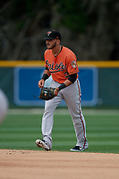 Baltimore Orioles Alexis Torres (3) during a Minor League Spring Training game against the Boston Red Sox on March 20, 2019 at the Buck O'Neil Baseball Complex in Sarasota, Florida.  (Mike Janes/Four Seam Images)