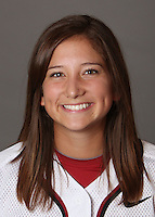 STANFORD, CA - OCTOBER 29:  Autumn Albers of the Stanford Cardinal softball team poses for a headshot on October 29, 2009 in Stanford, California.