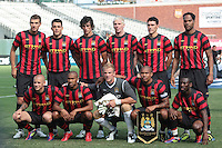 Manchester City Starting Eleven. Manchester City defeated Club America 2-0 in the Herbalife World Football Challenge 2011 at AT&T Park in San Francisco, California on July 16th, 2011.