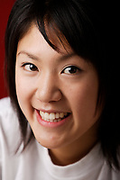 Montreal,  CANADA - Model Released  Illustration Photo - Asian  Girl.<br /> <br /> <br /> Photo :  Agence Quebec Presse - Pierre Roussel