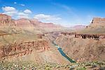 Arizona, Grand Canyon, Grand Canyon National Park, Hermit Rapids from Tonto Platform, Colorado River, Tonto Trail, Hermit - Bright Angel Loop Trail, Southwest, U.S.A.,