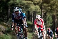 Bauke Mollema (NED/Trek-Segafredo) in the descent of the Col de Beixalis<br /> <br /> Stage 15 from Céret to Andorra la Vella (191km)<br /> 108th Tour de France 2021 (2.UWT)<br /> <br /> ©kramon