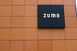 Exterior, Zuma Restaurant, London, city, England, UK, United Kingdom, Great Britain, Europe, European