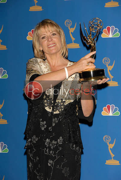 Hilary Bevan Jones<br />in the Press Room at the 58th Annual Primetime Emmy Awards. The Shrine Auditorium, Los Angeles, CA. 08-27-06<br />Scott Kirkland/DailyCeleb.com 818-249-4998