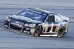 Sprint Cup Series driver Jamie McMurray (1) in action during the Nascar Sprint Cup Series Duck Commander 500 practice at Texas Motor Speedway in Fort Worth,Texas.
