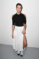 Wallis Day<br /> at the Eudon Choi AW17 show as part of London Fashion Week AW17 at 180 Strand, London.<br /> <br /> <br /> ©Ash Knotek  D3230  17/02/2017