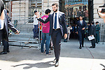 Real Madrid's Nacho Fernandez leaves Seat of Government in Madrid, May 22, 2017. Spain.<br /> (ALTERPHOTOS/BorjaB.Hojas)
