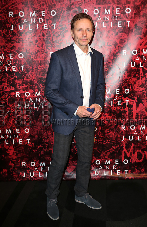 Brent Carver attending the Broadway Opening Night Performance After Party for 'Romeo and Juliet' at the Edison Ballroom in New York City on September 19, 2013.