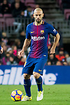 Javier Alejandro Mascherano of FC Barcelona in action during the La Liga 2017-18 match between FC Barcelona and Levante UD at Camp Nou on 07 January 2018 in Barcelona, Spain. Photo by Vicens Gimenez / Power Sport Images
