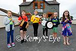 Members of the Lixnaw Comhaltas Ceoltóirí Éireann standing outside the Ceolann Cultural Centre in Lixnaw. L to r: Laoise McCarthy, Adam Fealy, Aoibhe McCarthy, Dara O'xxx, Killian and Saoirse McCarthy.