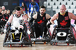 Zak Madell and Cody Caldwell, Lima 2019 - Wheelchair Rugby // Rugby en fauteuil roulant.<br />