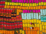 Colourful fabrics in Batik village by Mohammad Hedayet Sarker