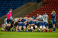 20th November 2020; AJ Bell Stadium, Salford, Lancashire, England; English Premiership Rugby, Sale Sharks versus Northampton Saints; Henry Taylor of Northampton Saints puts into the scrum