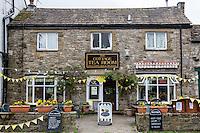 UK, England, Kettlewell, Yorkshire.  Tea Room.