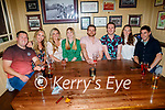 Enjoying the evening in the Mall Tavern on Saturday, l to r: Paul Gilltrap, Sinead Perry, Sarah Collins, Elaine Gilltrap, Liam Perry, Daniel O'Culloty, Sharon and Sean O'Gorman from Castleisland.