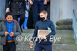 Garda Eamon McAndrew at Tralee court on Wednesday.