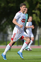 Gojko Cimirot (8) of Standard de Liege pictured during a friendly soccer game between Racing Club De Lens and Standard de Liege  during the preparations for the 2021-2022 season , on wednesday 7 of July 2021 in Billy Montigny , France . PHOTO DIRK VUYLSTEKE   SPORTPIX