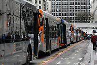 05.09.2019 - Protesto de motoristas de ônibus em SP