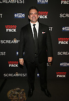 HOLLYWOOD, CA - OCTOBER 12: Darren Geare, at the 21st Screamfest Opening Night Screening Of The Retaliators at Mann Chinese 6 Theatre in Hollywood, California on October 12, 2021. Credit: Faye Sadou/MediaPunch