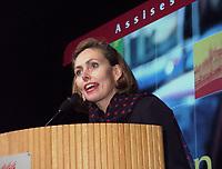 Les assises  de l'Union des Municipalitees du Quebec<br /> , du 6 au 8 mai 1999, au Palais des Congres -<br /> Monique Leroux<br /> <br /> <br /> PHOTO : Agence Quebec Presse