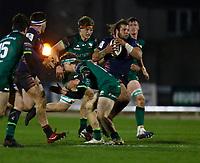 13th March 2021; Galway Sportsgrounds, Galway, Connacht, Ireland; Guinness Pro 14 Rugby, Connacht versus Edinburgh; Pierre Schoeman on an attacking run for Edinburgh