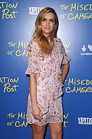 """Victoria Brown<br /> arriving for the premiere of """"The Miseducation of Cameron Post"""" screening at Picturehouse Central, London<br /> <br /> ©Ash Knotek  D3424  22/08/2018"""
