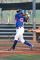 Derrick Fitzgerald -  Chicago Cubs - 2009 Arizona League.Photo by:  Bill Mitchell/Four Seam Images