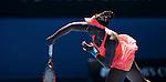Sloane Stephens (USA) loses to Victoria Azarenka (BLR) 6-3, 6-2 at the Australian Open in Melbourne, Australia on January 20, 2014